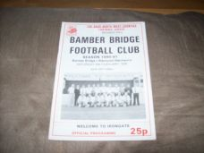 Bamber Bridge v Blackpool Mechanics, 1990/91